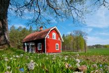 Travador rotes Haus Suedschweden