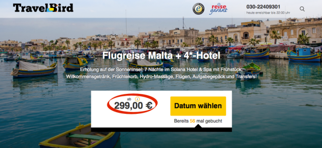 Travelbird_de_Malta