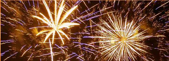 Feuerwerk Heide Park Halloween
