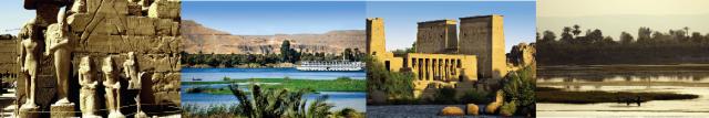 Landschaftsbilder Nil Sonnenklar