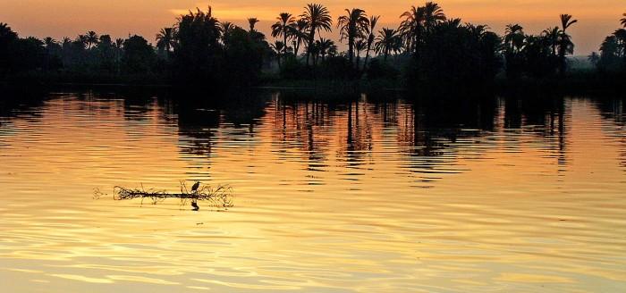 Nil Sonnenuntergang pixabay