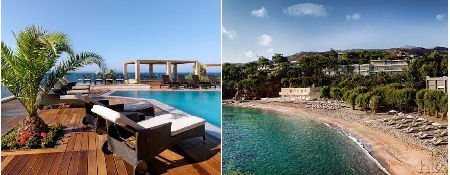 Luxus urlaub auf kreta eternal oasis mit flug for Design hotel kreta