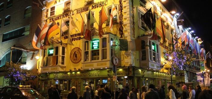 Temple Bar Dublin pixabay
