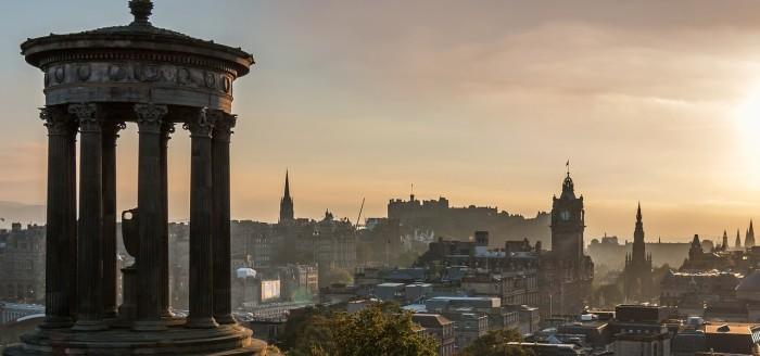Edinburgh Aussicht pixabay
