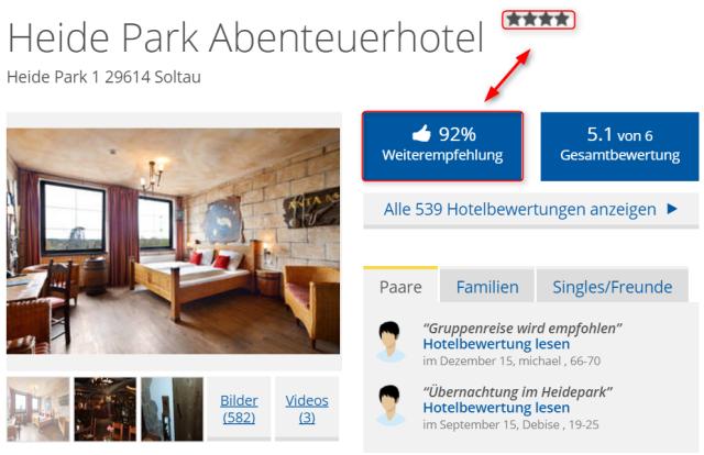 abenteuerhotel_heidepark_soltau_holidaycheck_weiterempfehlungsrate