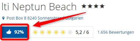 lti hotel neptun beach hotel bewertungen holidaycheck