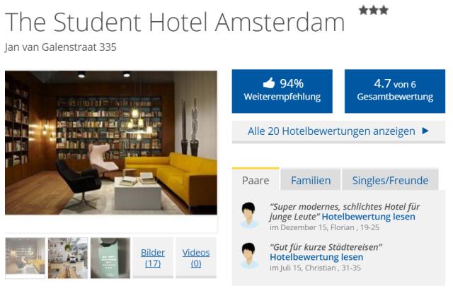 weiterempfehlungsrate_holidaycheck_studenthotelwest_amsterdam