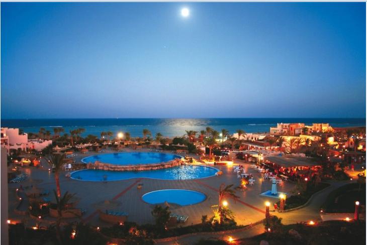 1 woche gypten im 4 sterne hotel mit all inclusive flug