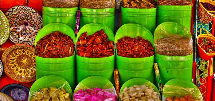 Gewuerze Marrakesch pixabay