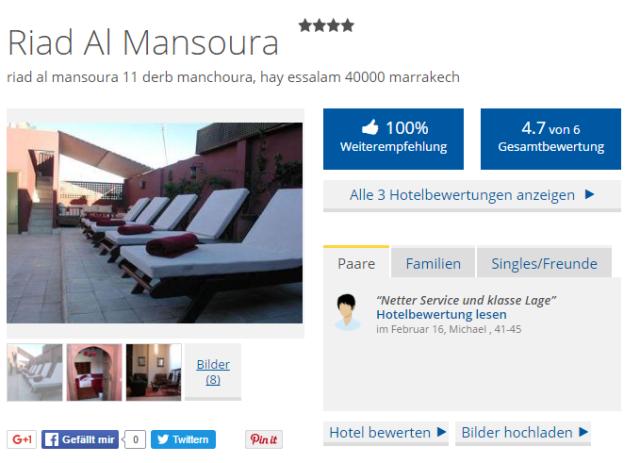 Holidaycheck Riad Al Mansoura