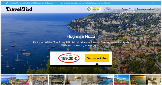 TravelBird_Nizza_Angebot