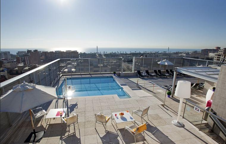 Hotel In Barcelona Strand Nah
