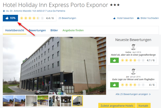 Holidaycheck Holiday Inn Express Porto