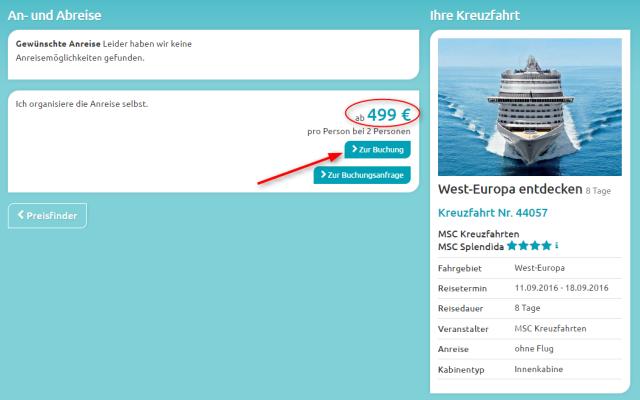 Angebotsuebersicht MSC WestEuropa ehoi