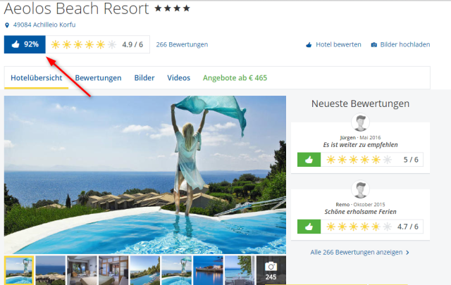 Aeolos Beach Resort Holidaycheck