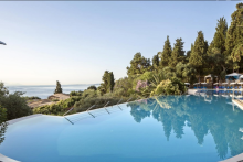 Pool Aeolos Beach Korfu Homepage Hotel
