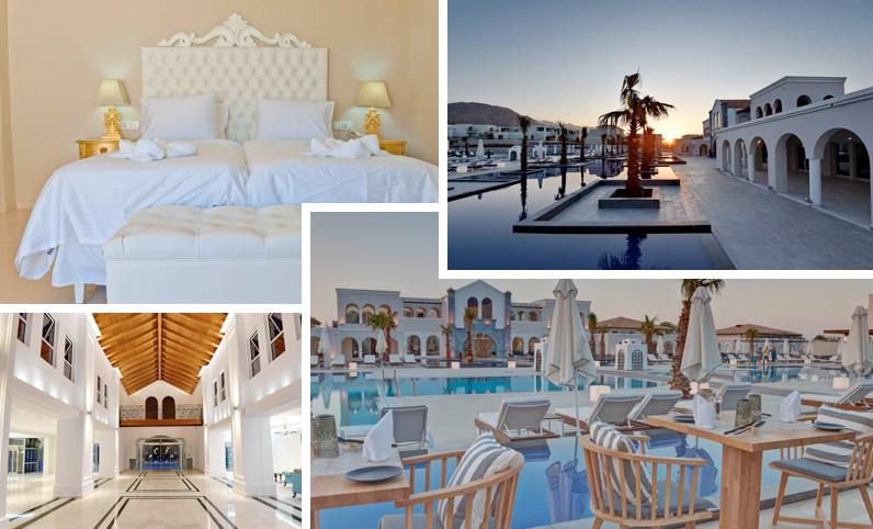 Neuer ffnung auf kreta neues luxushotel mit flug und hp for Design hotel kreta
