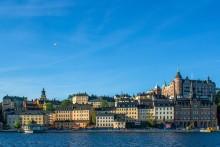 Stockholm vom Wasser pixabay