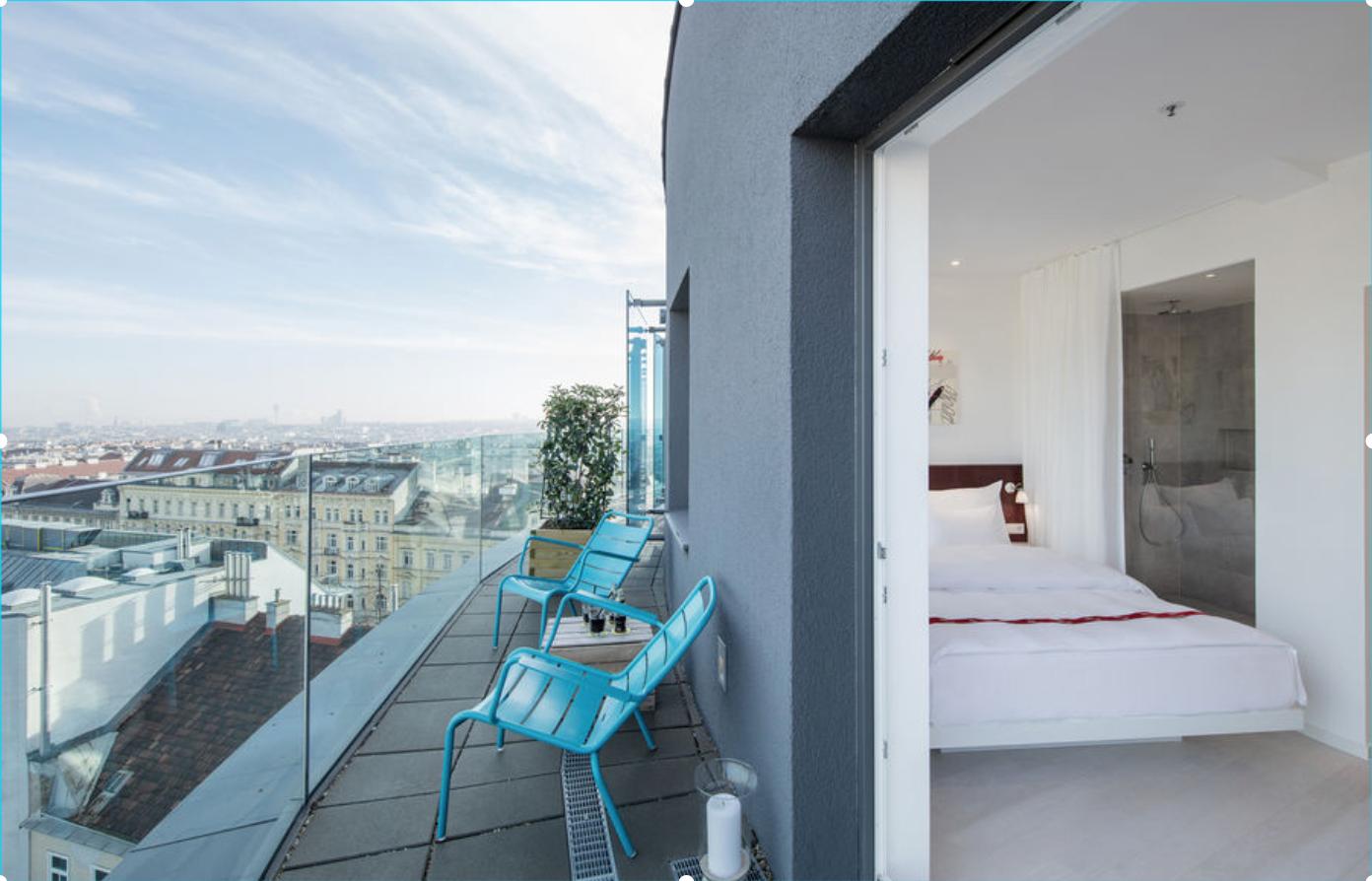 Kurztrip kracher 3 tage designhotel ruby marie in wien for Designhotel wien