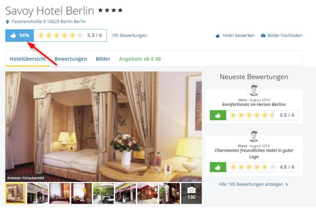 Savoy Berlin Holidaycheck