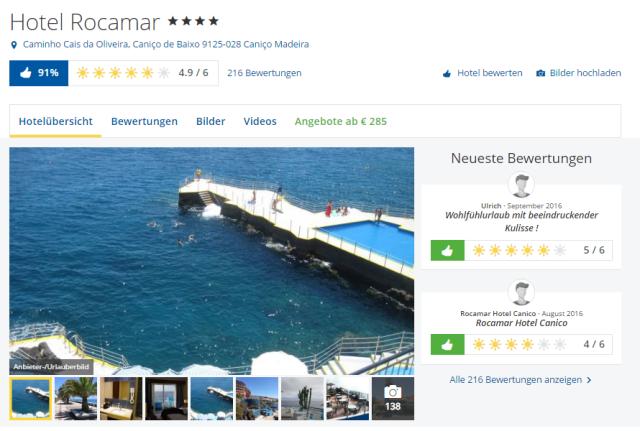 Holidaycheck Roca Mar