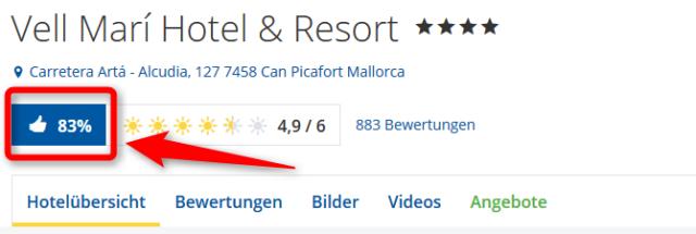 Vell Mari Hotel Resort Bewertungen HolidayCheck