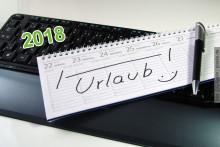 Urlaubsplanung 2018