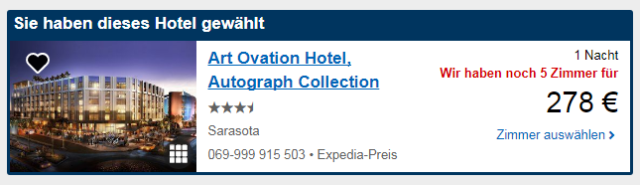 Art-Ovation-Hotel-Sarasota-Angebot