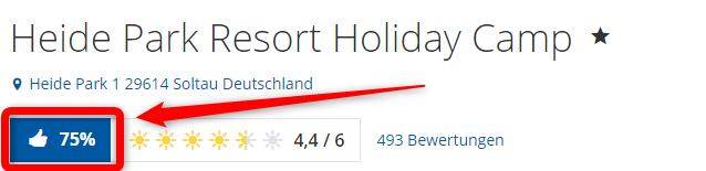 heidepark holidaycamp bewertungen holidaycheck