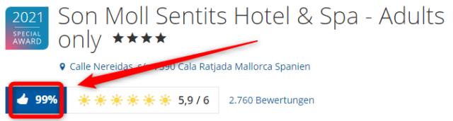 son moll sentits hotel spa bewertungen holidaycheck 2021