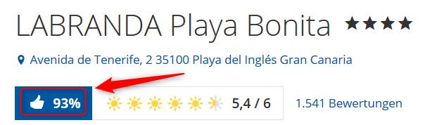 Bewertungen Labranda Playa Bonita Holidaycheck