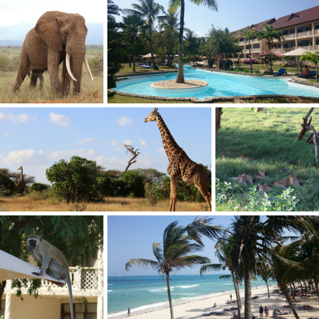 Kenia Amani Tiwi Beach Resort Collage