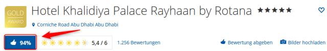 Khalidiya Palace Rayhaan by Rotana Bewertungen Holidaycheck