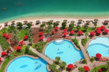 Khalidiya Palace Rayhaan by Rotana Luftbild Pool Holidaycheck