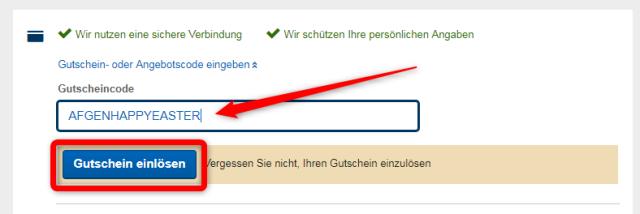 Gutschein expedia