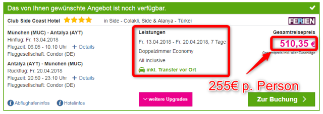 side-coast-hotel-türkei-angebot-lastminute