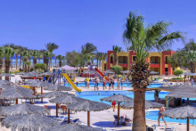 Aegypten Magic Tulip Resort Außenanlage mit Poolblick Holidaycheck Tropo