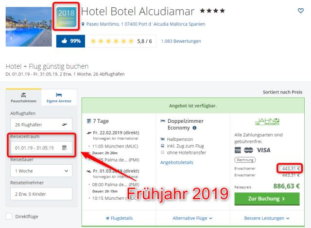 hotel-botel-alcudiamar-angebot-urlaub-2019-fruehjahr
