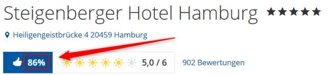 Steigenberger Hotel Hamburg Bewertungen Holidaycheck