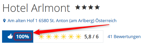 Hotel Arlmont Arlberg Bewertungen Holidaycheck