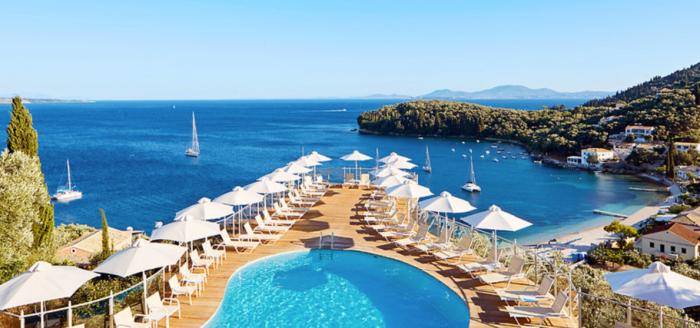 Hotel San Antonio Korfu Poolblick Angebot 5vorflug