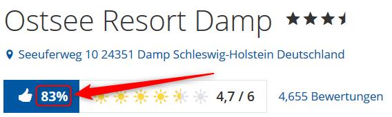Ostsee Resort Damp Bewertungen Holidaycheck