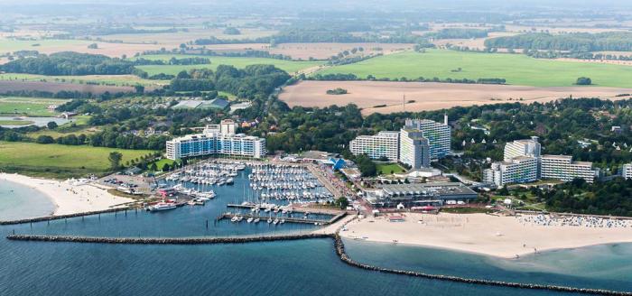 Ostsee Resort Damp Blick von oben auf die Anlage Angebot Travelbird