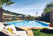 Steigenberger Hotel and Spa Krems Lounge und Poolbereich