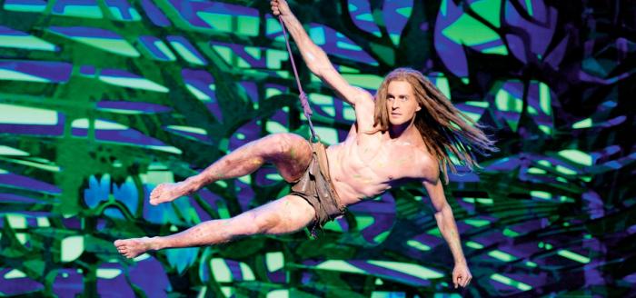 Tarzan Musical Oberhausen Buehnenbild Angebot Travelbird