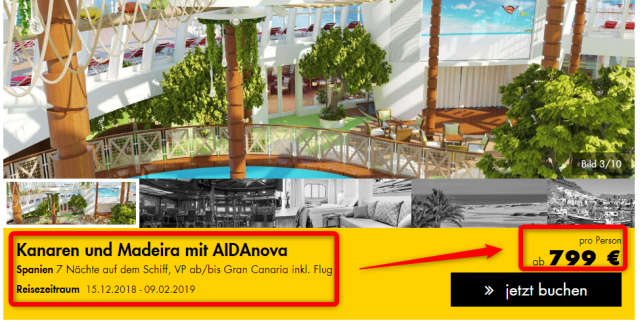 aidanova-kanaren-kreuzfahrt-justaway-deal-ab-gran-canaria