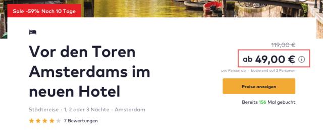 travelbird_amsterdam_corendonvillage_preis