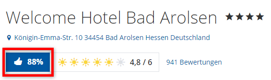 welcome hotel bad arolsen bewertungen