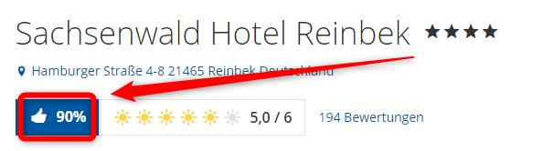 bewertungen holidaycheck sachsenwald hotel reinbek