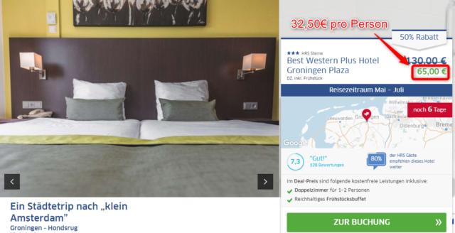 hrsdeals_bestwesternplus_groningen_angebot
